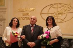 Алису Гицба наградили золотым орденом за вклад в культуру Кавказа