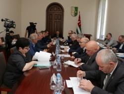 АБХАЗИЯ: В Кабмине Абхазии обсудили исполнение бюджета по налоговым доходам за 4 месяца