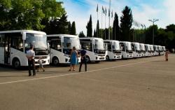 АБХАЗИЯ: Столичный автопарк пополнился новыми автобусами