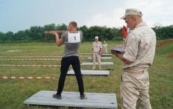 АБХАЗИЯ: Военные ЮВО в Абхазии провели соревнования по летнему биатлону