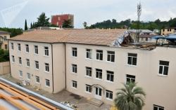 АБХАЗИЯ: Горевшую сухумскую школу восстановят из средств резервного фонда президента Абхазии