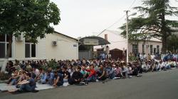 АБХАЗИЯ: Мусульмане Абхазии празднуют Аурычра Ныха (Ураза-байрам)
