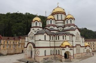 Монастырь Святого Апостола Симона Кананита в г.Новый Афон
